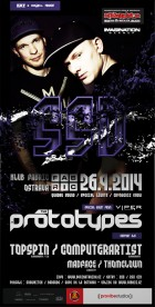 flyer na akci SSD 68. with THE PROTOTYPES (26.09.)