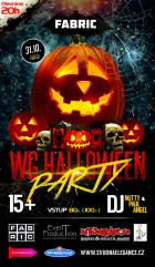 flyer na akci WG HALLOWEEN PARTY (31.10.)