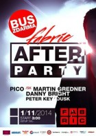 flyer na akci ONLY AFTERPARTY (01.11.)