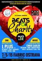 flyer na akci BEATS FOR CHARITY : B4L WARM-UP (07.05.)