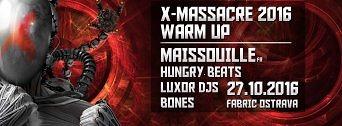 X-Massacre Warm Up flyer