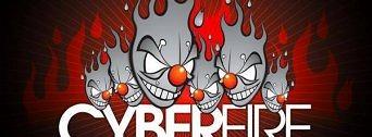 Cyberfire 15. let w/ Matrix & Futurebound (UK) flyer