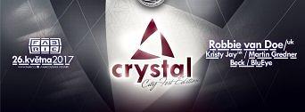 Crystal: CityFest edition w/ Robbie van Doe (UK) flyer
