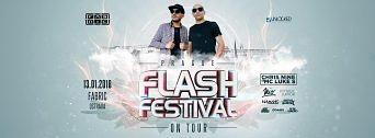 Flash Festival on Tour flyer