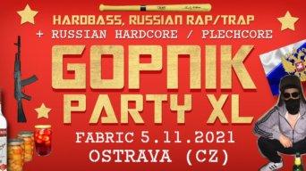 Gopnik Párty XL flyer
