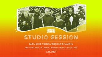 Studio Session flyer