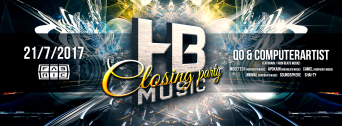 Closing Party w/ Hoofbeats flyer