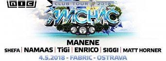 Mácháč Club Tour flyer