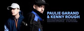 Paulie Garand & Kenny Rough – Runway Tour flyer