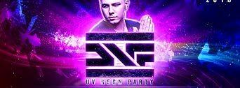 UV Neon Party flyer