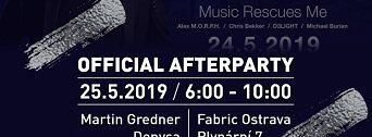 Official Afterparty Paul van Dyk flyer