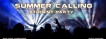 Summer Calling Student Party flyer