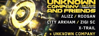 Unknown Company and Friends flyer