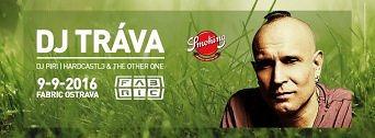 DJ TRÁVA flyer