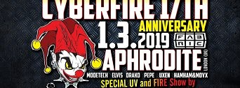 CYberfire 17th Anniversary flyer