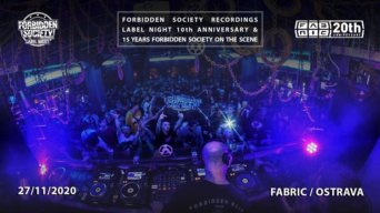 Fsrecs Label Night 10th Anniversary flyer