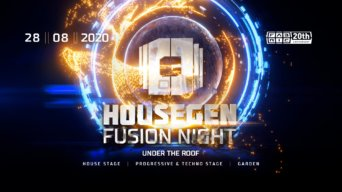 Fusion: Under The Roof flyer