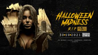 Halloween Madness DNB flyer