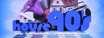 House 90's flyer
