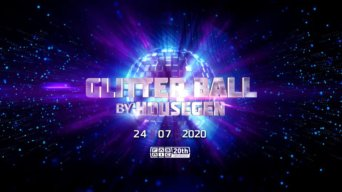 GlitterBall By HouseGen flyer
