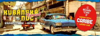 Kubánská Noc Especial flyer