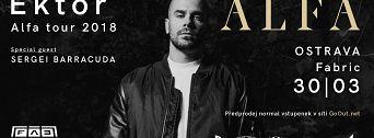 Ektor Alfa Tour 2018 flyer