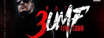 P.A.T. 3UMF Tour flyer