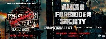 Forbidden Society Recordings Label Night Ostrava flyer