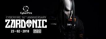 Cyberfire 16 Anniversary w/ Zardonic flyer