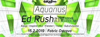 Aquarius (DNB) flyer