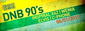 D'N'B 90's flyer