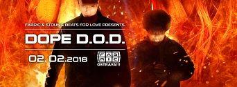 Dope D.O.D. flyer