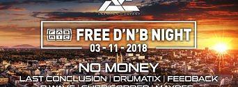 Free DNB Night w/ Unknown Company flyer