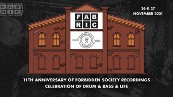 FSRECS Label Night 11th Anniversary Day 1 flyer