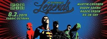 Legends of Ostrava!!! flyer