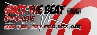 Shot The Beat flyer
