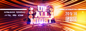 Up All Night flyer